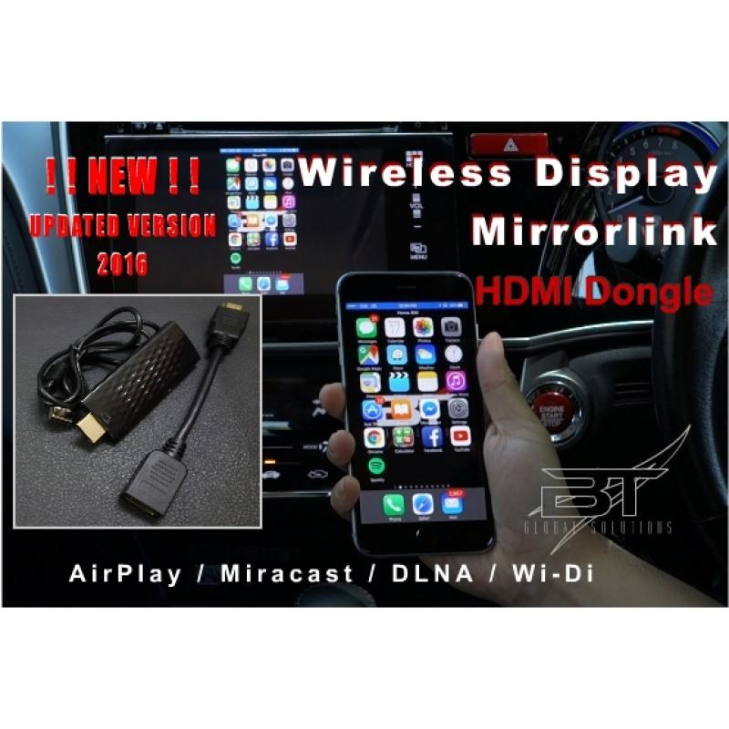 Wireless Hdmi Display Dongle Mirrorlink Airplay